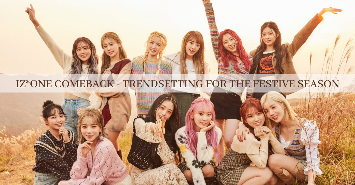 IZ*ONE comeback hair featured poster
