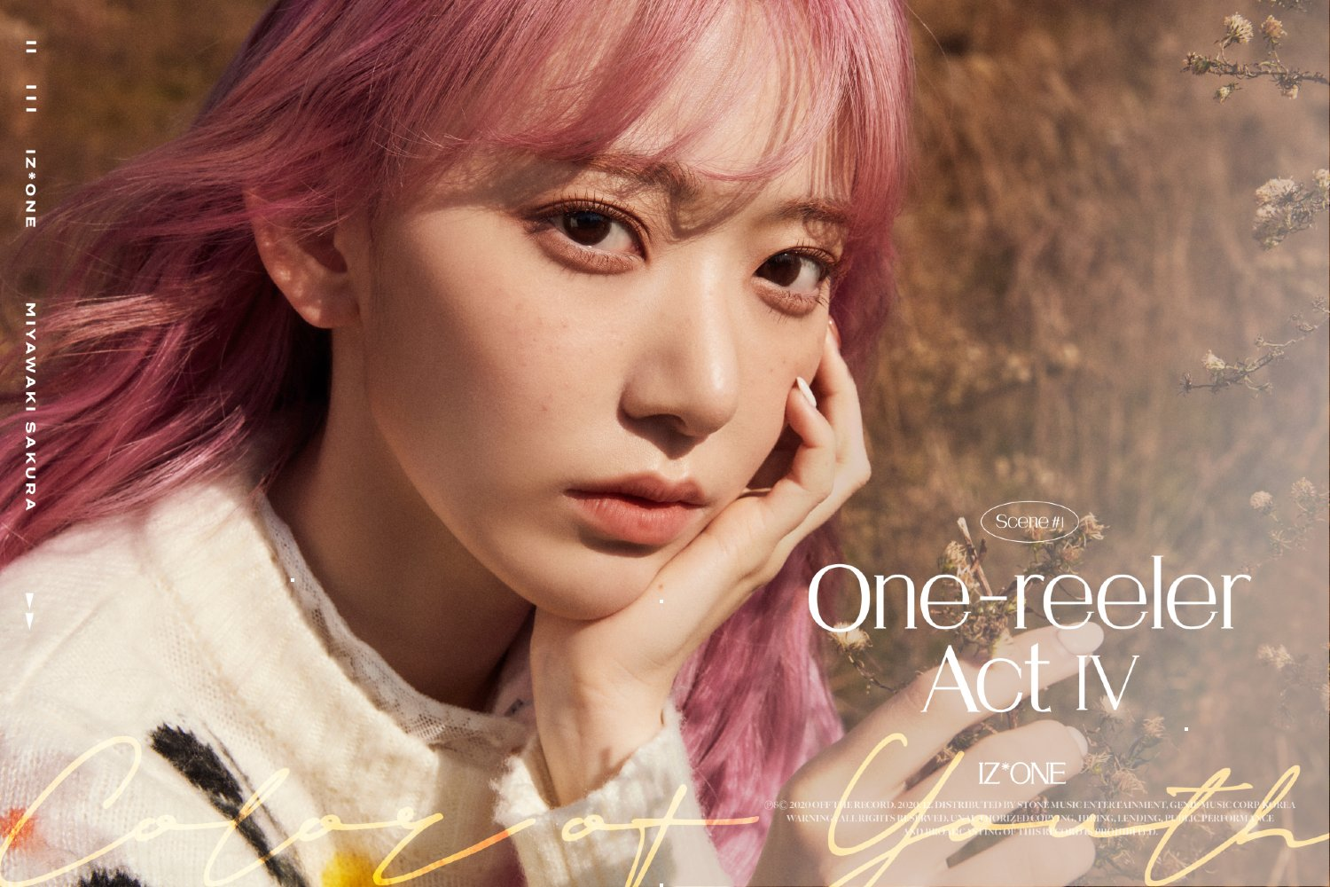 IZ*ONE comeback hair sakura
