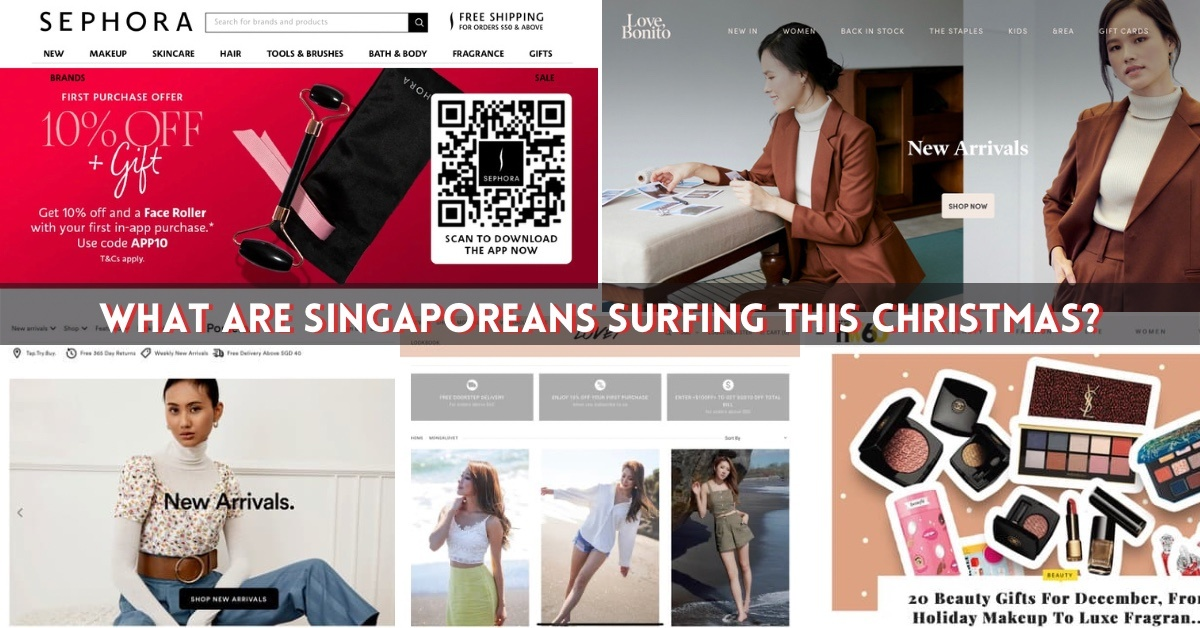 Singapore beauty fashion sites