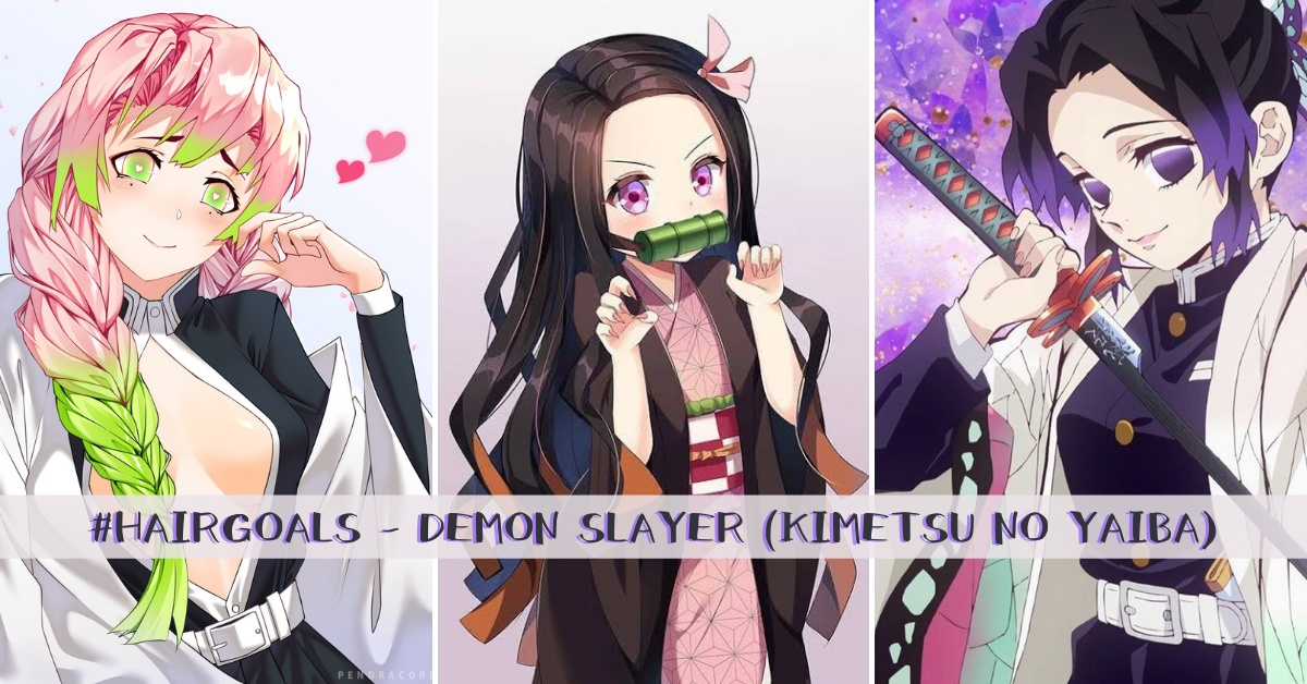 Demon Slayer (Kimetsu no Yaiba) - Hair trends