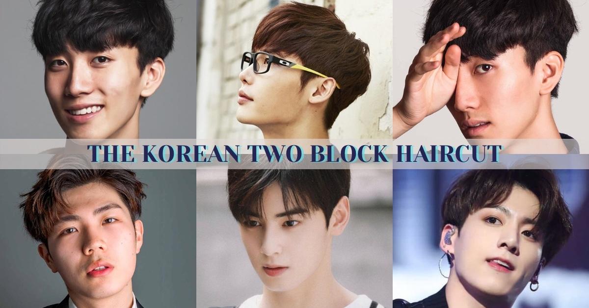 Korean two block haircut