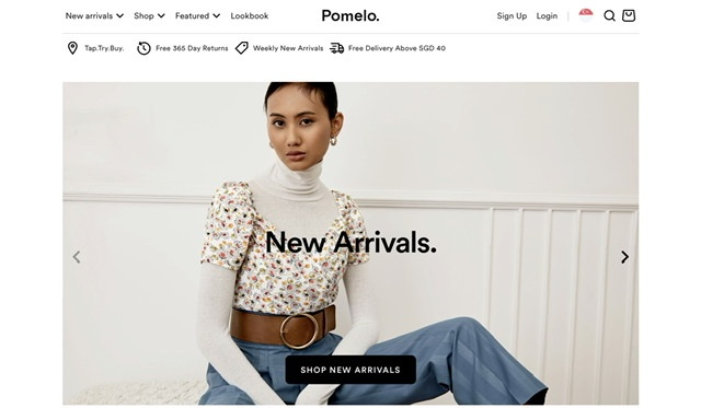 Pomelofashion Beauty Fashion Singapore