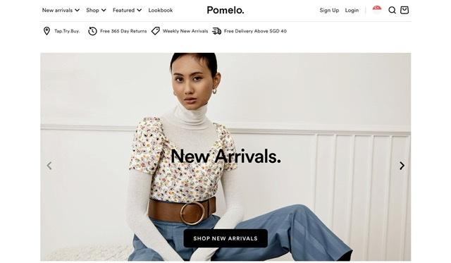 Pomelofashion Beauty Fashion Singapore