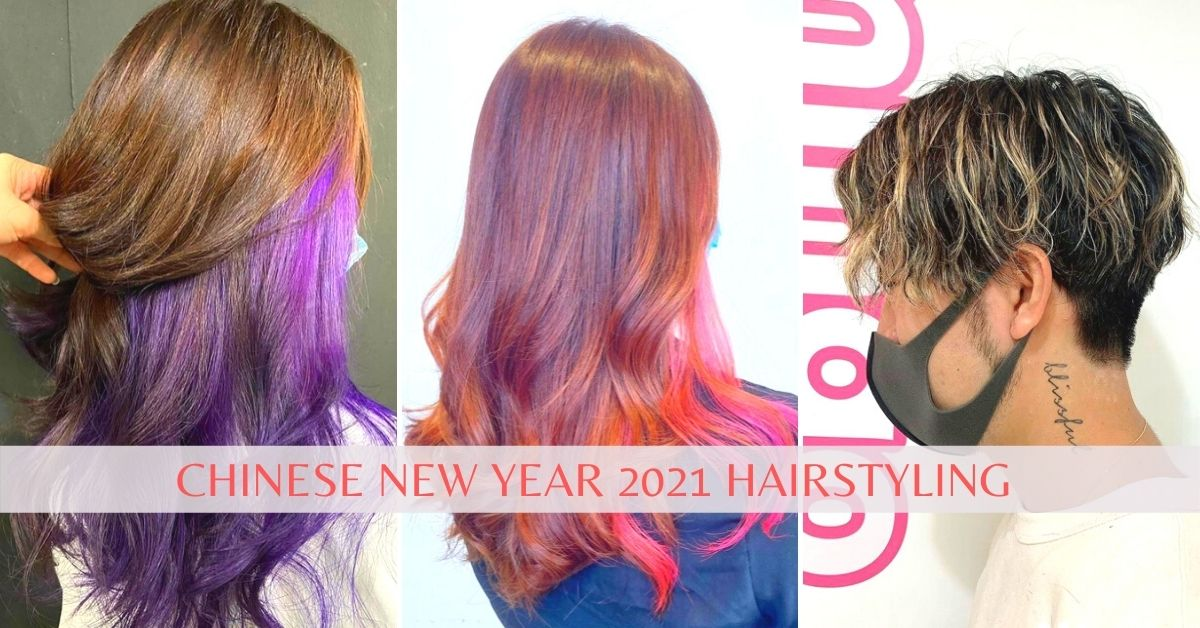Chinese New Year hairstyling